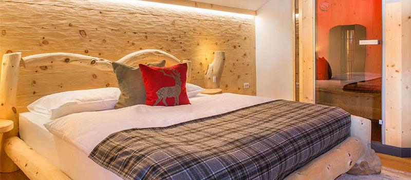 Camera superior con sauna a raggi infrarossi