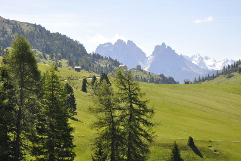 free walking guide to Plätz Wiese from Hotel Rosengarten, Dobbiaco