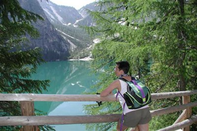 Wild lake of Braies