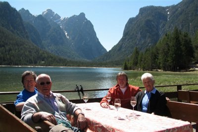Guest from  Hotel Rosengarten at the lake of Dobbiaco