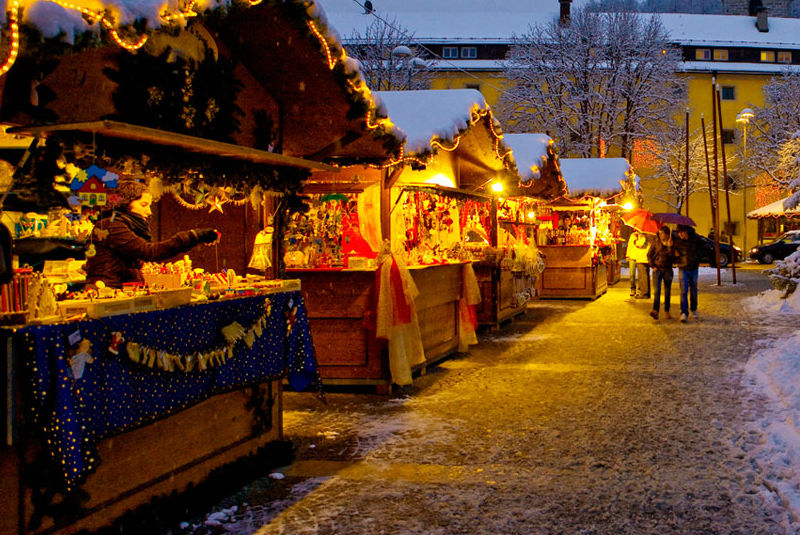 Christmasmarket at Bruneck, Brunico