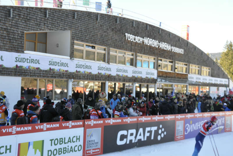 Nordicarena in Toblach - Tour de Ski