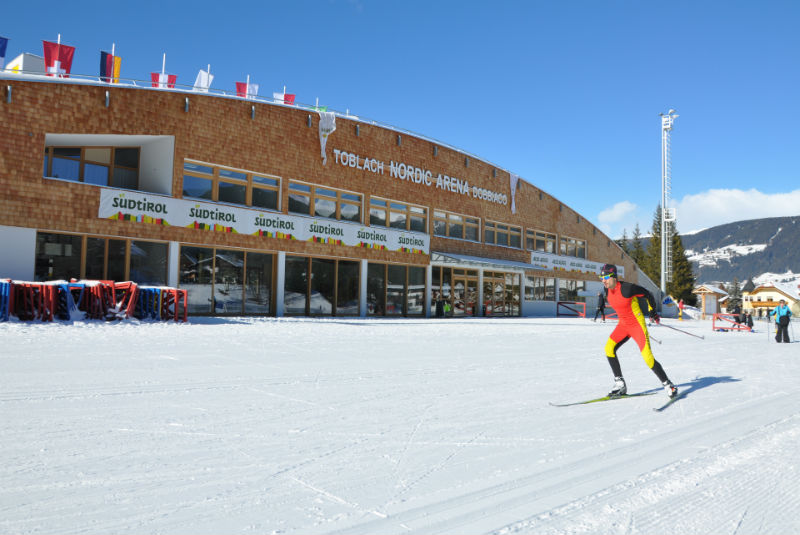 Nordicarena in Toblach