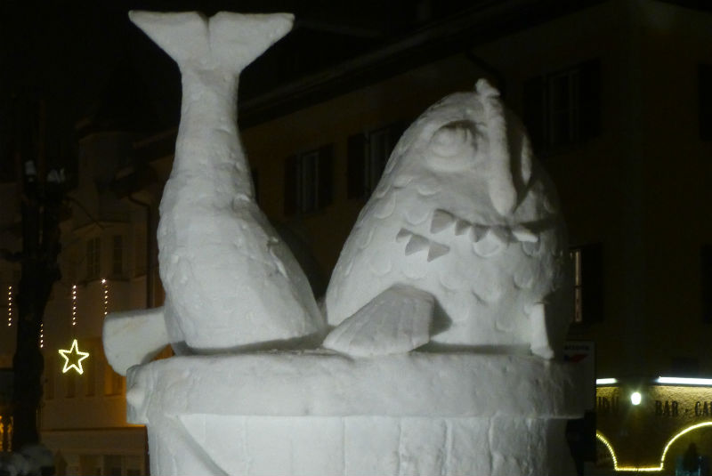 sculptures festival at San Candido